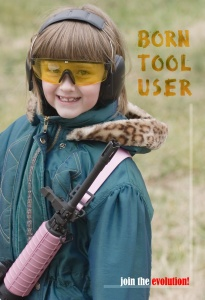 Tool users are cool.