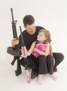 Supportive fathers are necessary role models for little girls.