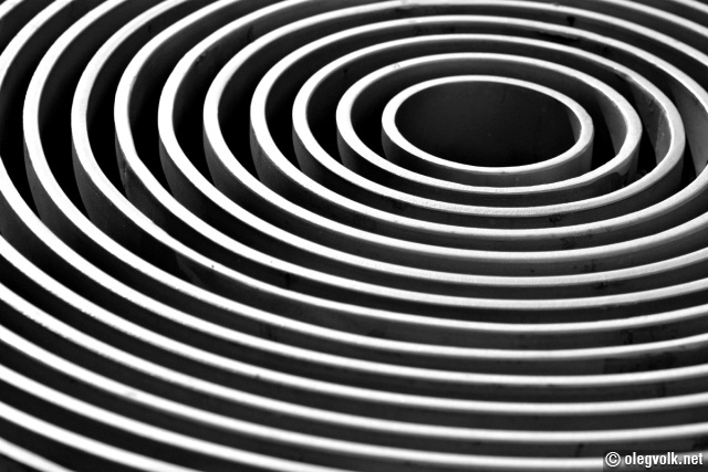 how to draw concentric ovals