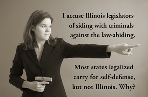 Illinois legislators side with criminals