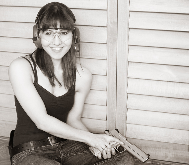 Danica with Coonan .357