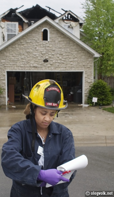 Fire department investigator.