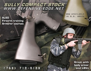 A variant of Defensive Edge ad (SWAT Magazine)