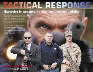 Tactical Response Training ad.