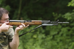 Dave likes milsurp weapons, like this Yugoslavian SKS.